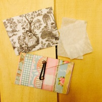 Blotting paper envelopes