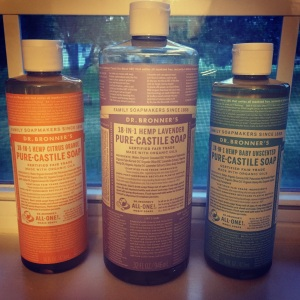 Dr. Bronner's Castille Soaps Cleaning solutions