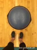 Bosu ball workouts.