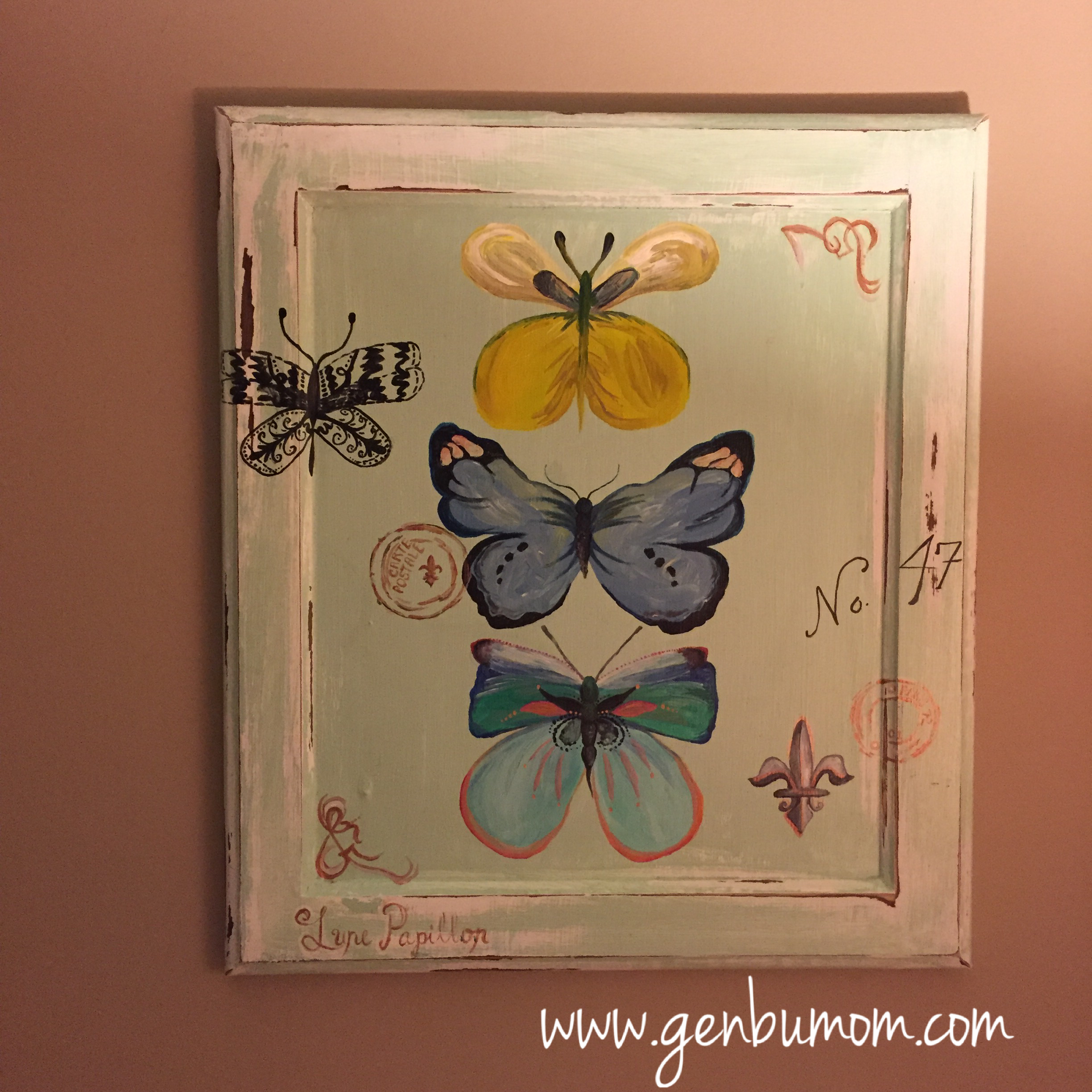 Cabinet Door Art Easy DIY Upcycle & Cabinet Door Art: Easy DIY Upcycle \u2013 Inspired Natural and Creative
